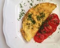 Omelette with Spinach (Omlet ze Szpinakiem)