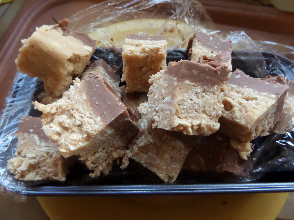 Madhouse recipe : Chocolate Peanut Butter Fridge Bars
