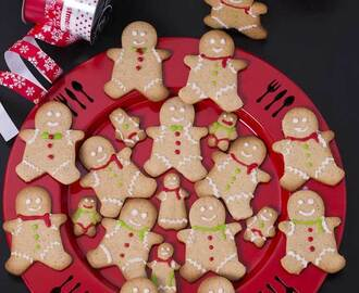 Gingerbread men Cookies| Christmas Recipes