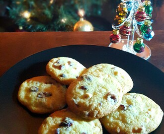 Orange Cranberry and White Chocolate Cookies