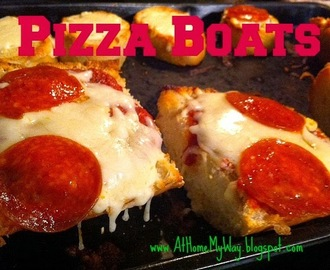 Pizza Boats - Frugal and Fast!