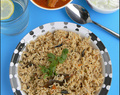 Kuska Biryani (Dindugul Style) | Plain Biryani Without Vegetables