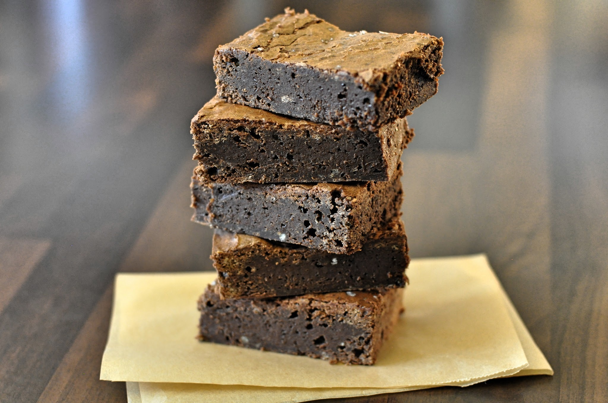 Recipe: Dairy & Gluten Free Salted Chocolate Brownies