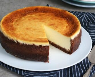 Almost Classic NY Cheesecake