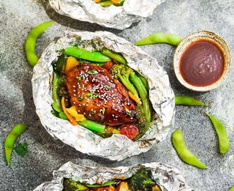 Teriyaki Chicken Foil Packets