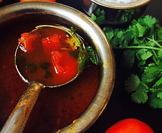 Devasthana Saaru/ Vattunu saaru  ( Temple Rasam with freshly ground spices)