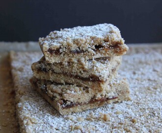 Oaty Mincemeat Squares