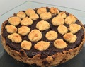 Nutella Pudding Cookie Dough Tart
