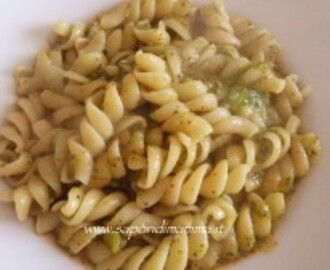 Pasta in crema di broccoli e patate