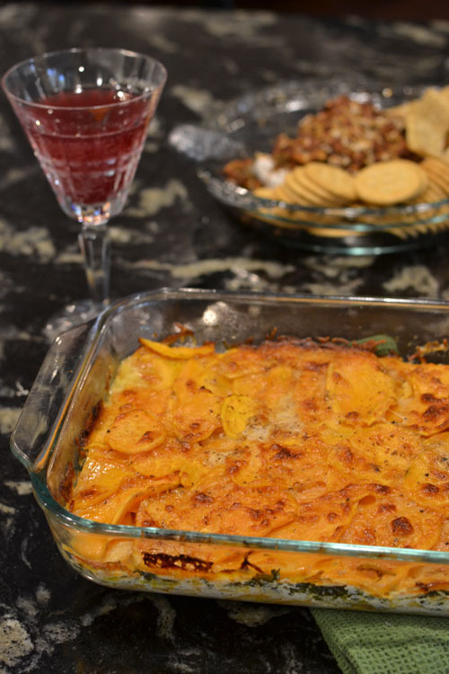 Sweet Potato and Kale Casserole