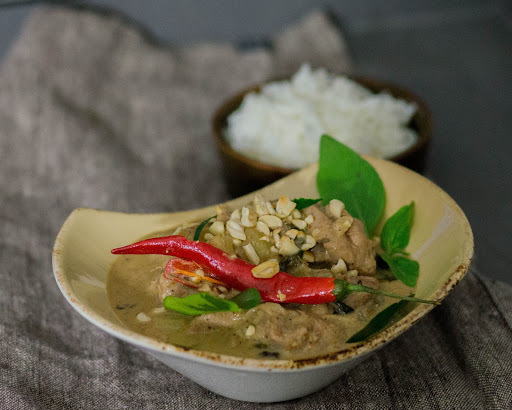 Massaman curry kanalla