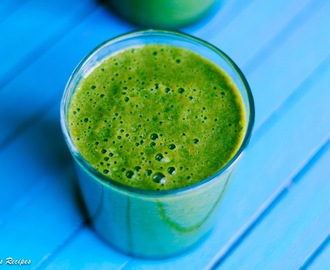 Energizing Green Smoothie for a perfect morning