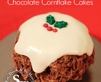 Christmas Pudding Cornflake Cakes