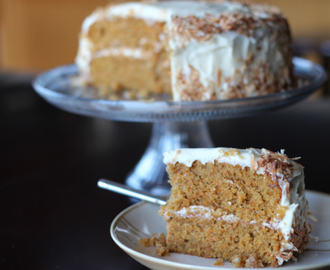 Carrot Cake with Browned Butter Cream Cheese Frosting