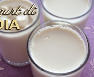Yogurt di soia fatto in casa (con yogurtiera)