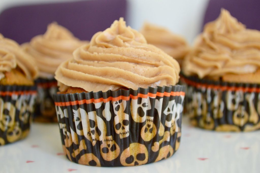 Gluten and Dairy Free Pumpkin Spiced Latte Cupcakes