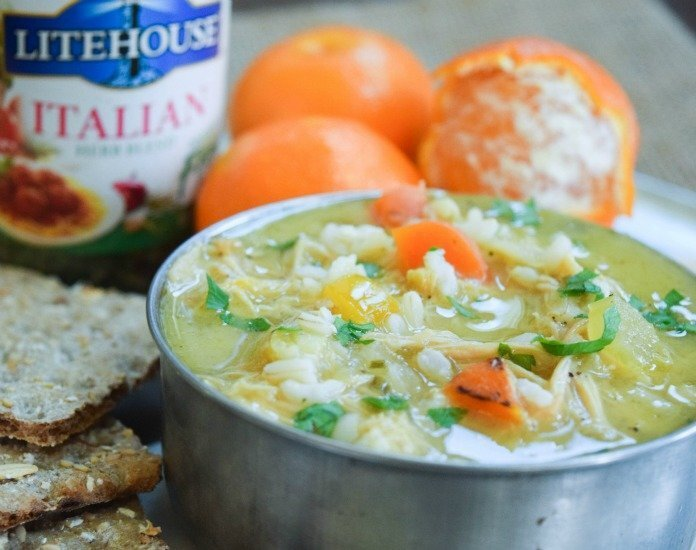 Comforting Chicken & Rice Soup Recipe – Really Helps You Feel Better!