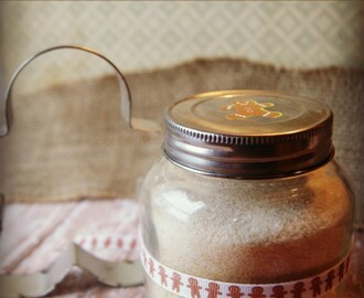 Gifts in a Jar: Gingerbread Flavored Sugar