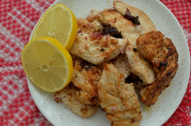 Citrus spicy chicken recipe