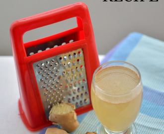 Natural healing – Ginger Beer Recipe