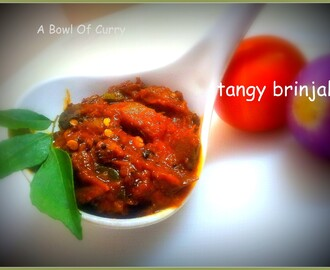 Tangy Brinjal
