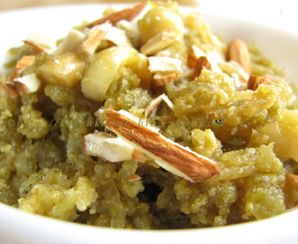 Lauki ka Halwa / Sweet dish made with Bottle Gourd
