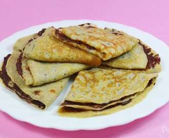 Receta Light | Crêpes Sanos