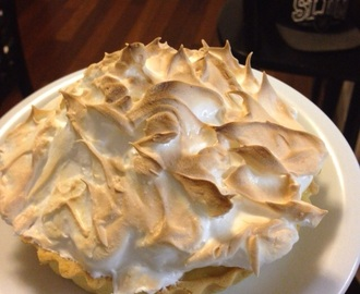 Torta de limão siciliano – Lemon meringue pie
