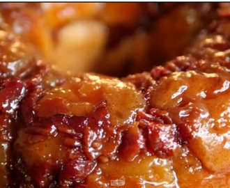 Salted Caramel Bacon Monkey Bread