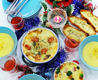 Festive Brunch Menu Using Perfect Italiano Cheese