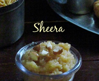 Moong Dal Sheera - Moong dal halwa - IFC -step by step