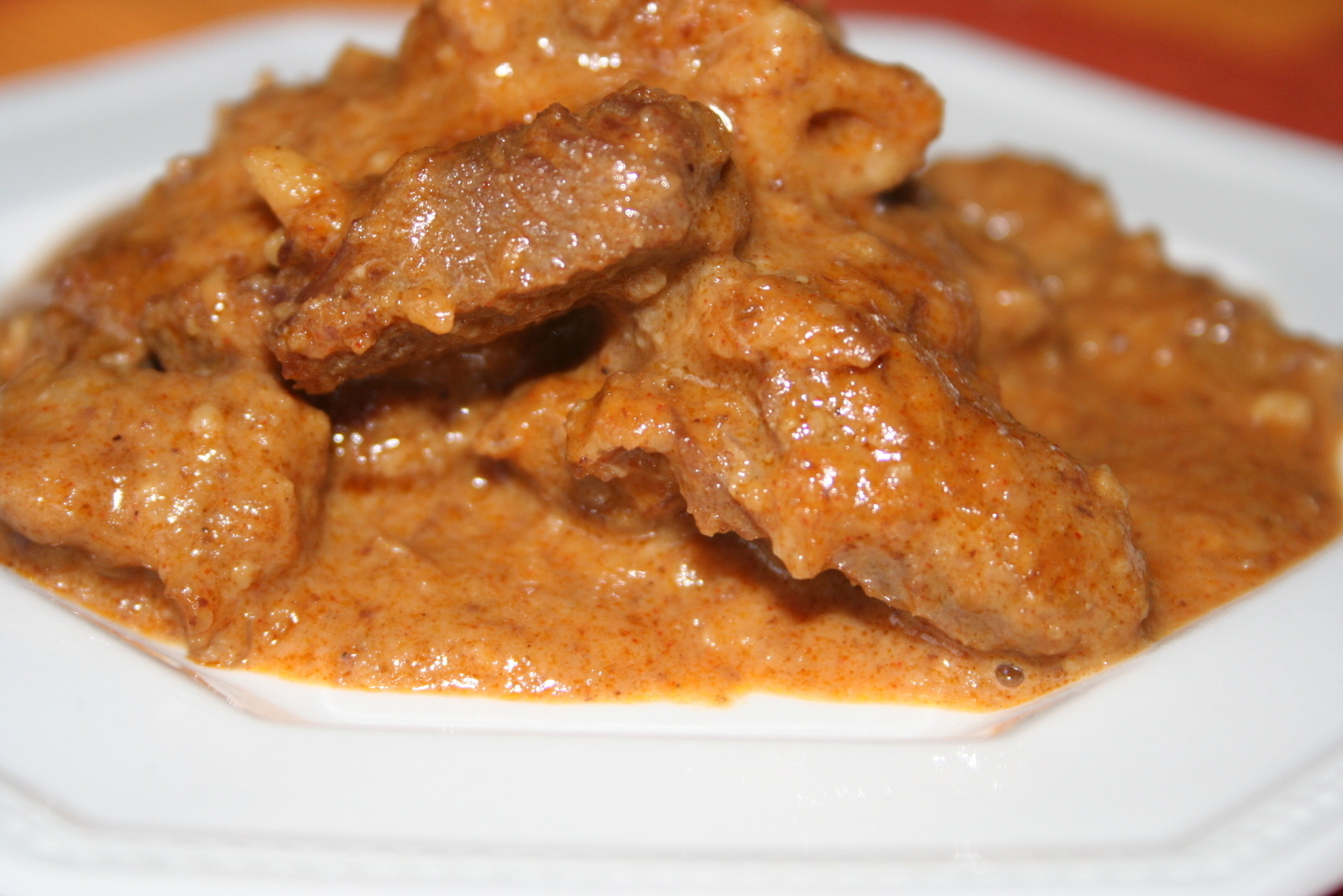 Mutton qorma (Korma, Pakistani recipe)