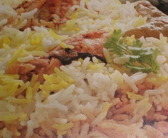 Hyderabadi Biryani (chicken) recipe