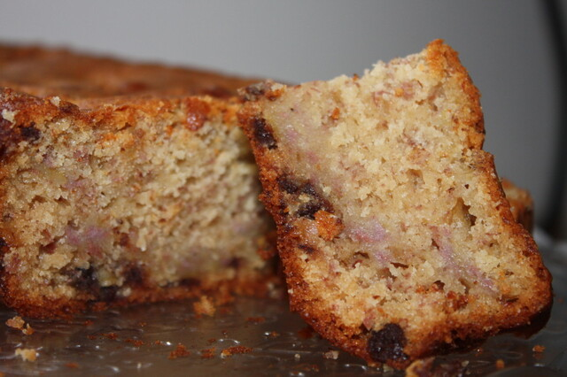Recipe: Banana & Chocolate Loaf Cake