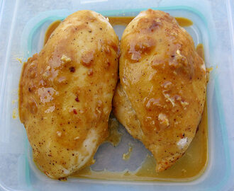 Honey Mustard Harissa Chicken Breasts