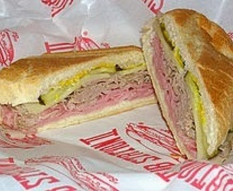 One of America's Favorites - Cuban Sandwich