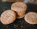 Guilt Free Peanut Butter Coconut Cookies