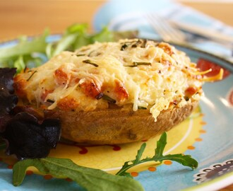 Twice Baked Stuffed Potatoes