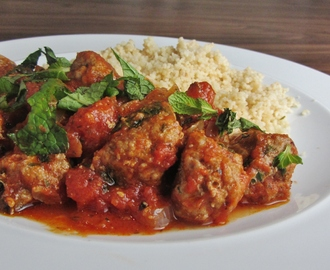 Mint and Lamb Meatballs