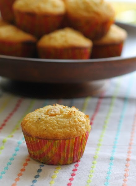 Coconut White Chocolate Muffins #MuffinMonday #CandyBarSeries