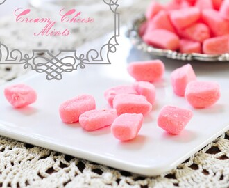 274.  Cream Cheese Mints #SundaySupper