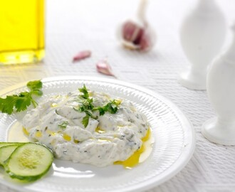 Tzatziki Recipe (Greek Yoghurt & Cucumber Dip)