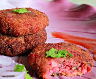 Soy And Vegetable Cutlets