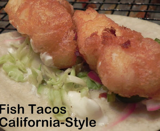 Fish Tacos, California-Style
