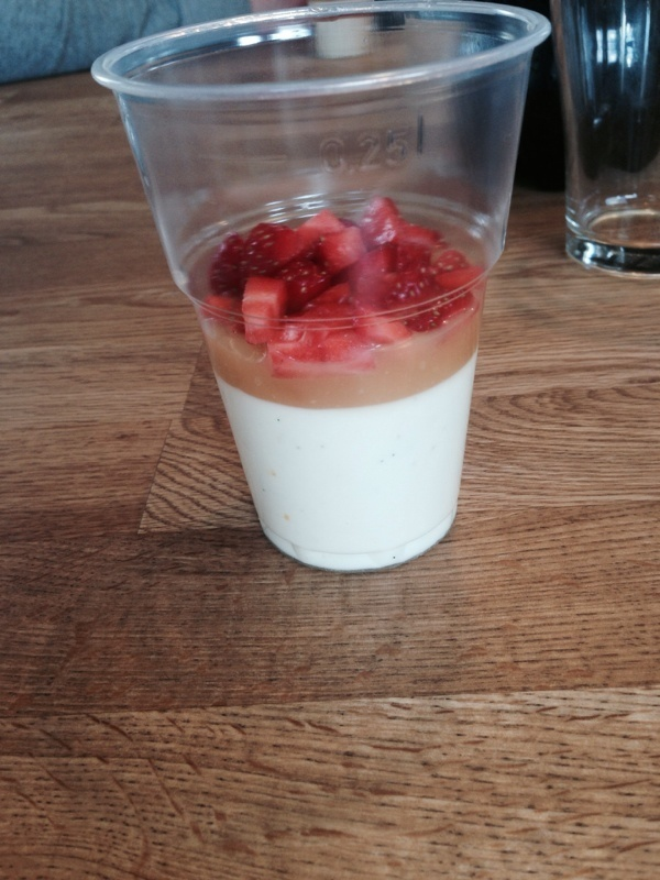 Citronpannacotta