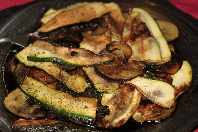 Pickled Eggplant and Zucchini