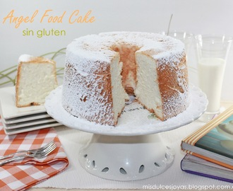 Angel Food Cake (Bizcocho de ángel) - sin gluten