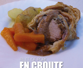 Fillet of Pork en Croute