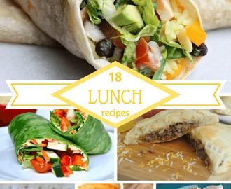 18 Lunch Recipes