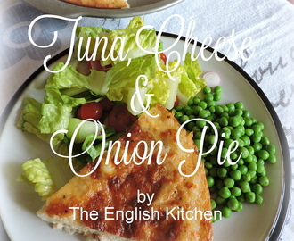 Tuna, Cheese & Onion Pie